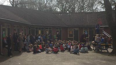 Het schoolkamp!